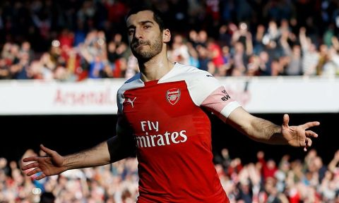 Henrikh Mkhitaryan was an Arsenal player