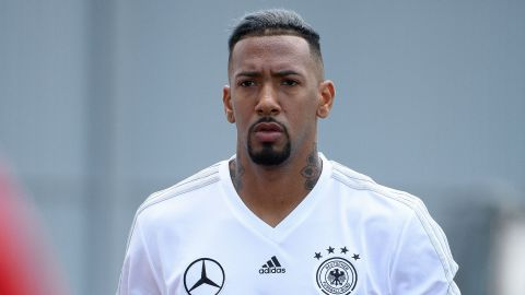 Chelsea's summer target Jerome Boateng caught on the camera.