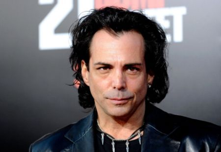 Richard Grieco caught on the camera.