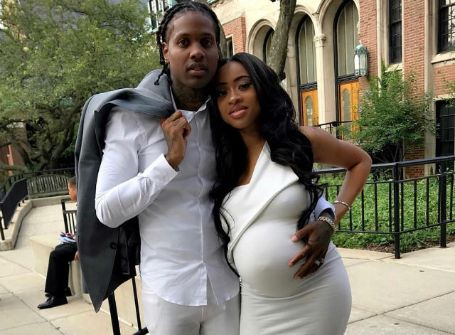 Durk with his wife India