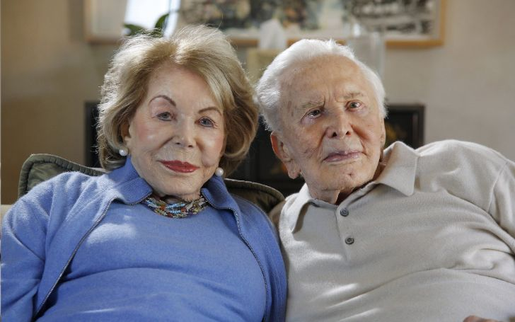Anne Douglas's Long-Time Married Life With Kirk Douglas