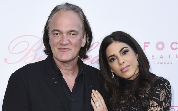Quentin Tarantino Married his Fiancee Daniella Pick in an Intimate Ceremony in Los Angeles