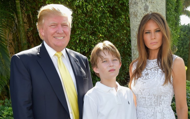 First Lady Melania Trump Shares That Barron Trump is Interested in Sports