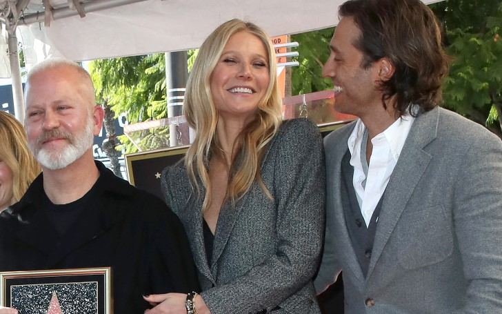 Gwyneth Paltrow and Husband Brad Falchuk Honor Their Friend Ryan Murphy At His Hollywood Walk of Fame