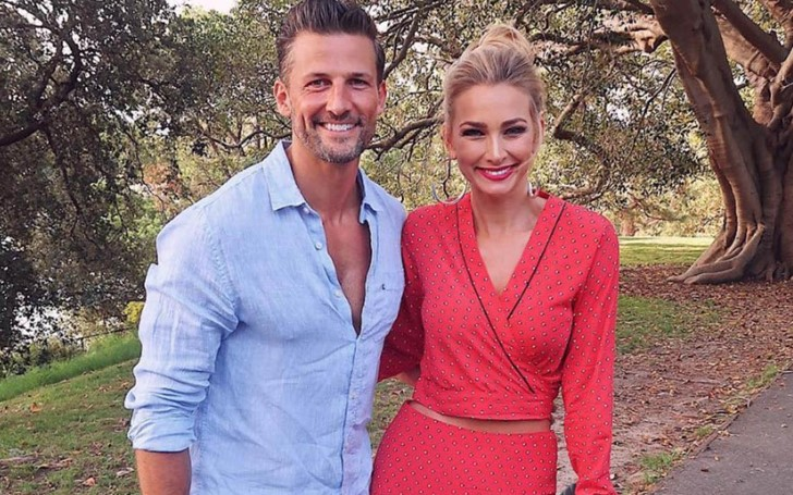 Tim Robards And Anna Heinrich Share Their Top Fitness Tips Anna Heinrich S Mind Blowing Bikini Glamour Fame