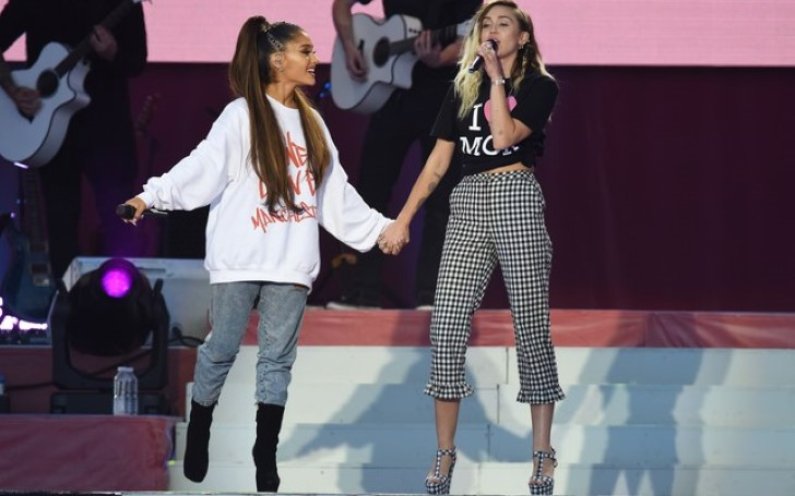 Ariana Grande Receives Text From Miley Cyrus After Split From Pete Davidson