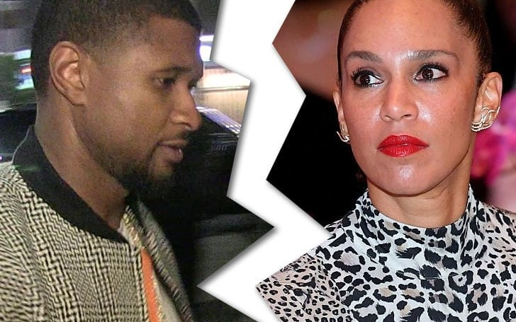 American Singer Usher Files For Divorce From Wife Grace Miguel