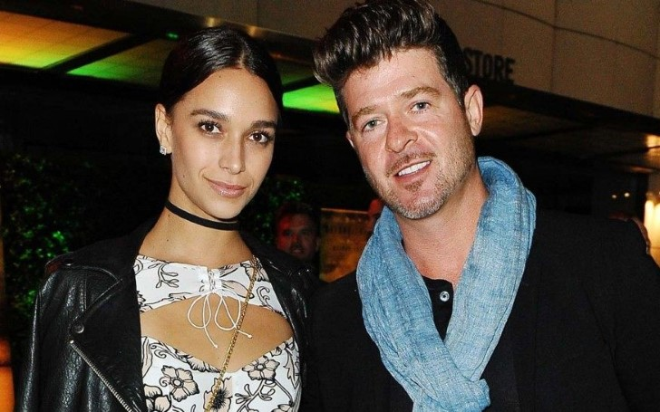 Robin Thicke Proposed To 23 Years old Pregnant Girlfriend April Love Geary