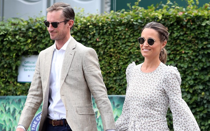 Pippa Middleton In a Bikini Celebrating The Holidays With Her Husband James Matthews