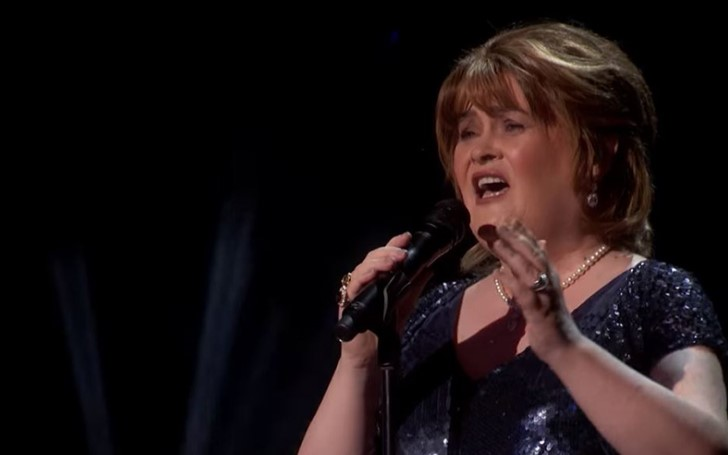 Susan Boyle In Tears After Receiving Golden Buzzer in 'America's Got Talent'