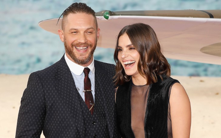 Tom Hardy Welcomes Second Child with Wife Charlotte Riley