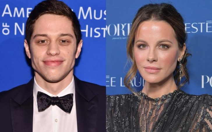 Pete Davidson and Kate Beckinsale Pictured Holding Hands Fueling Romance Rumors