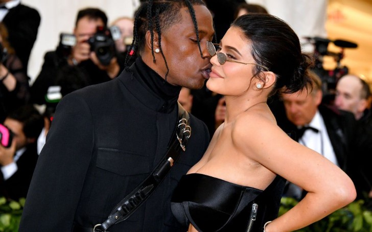 Kylie Jenner Spotted Wearing a Giant Engagement Ring at the Super Bowl; Is She Engaged To Travis Scott?