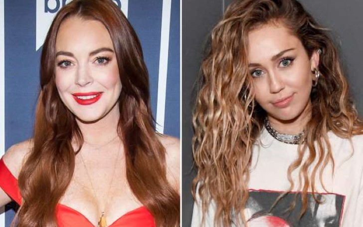 Lindsay Lohan Wants Miley Cyrus as Guest at Her Club in Greece
