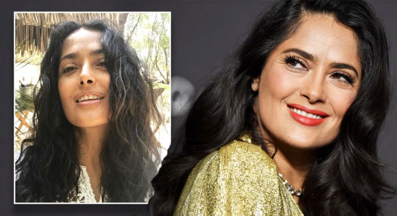 'Natural Beauty' Salma Hayek Praised By Fans After She Shows off White Hair