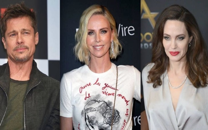 Is Angelina Jolie Trying To Steal Brad Pitt Back From Charlize Theron?