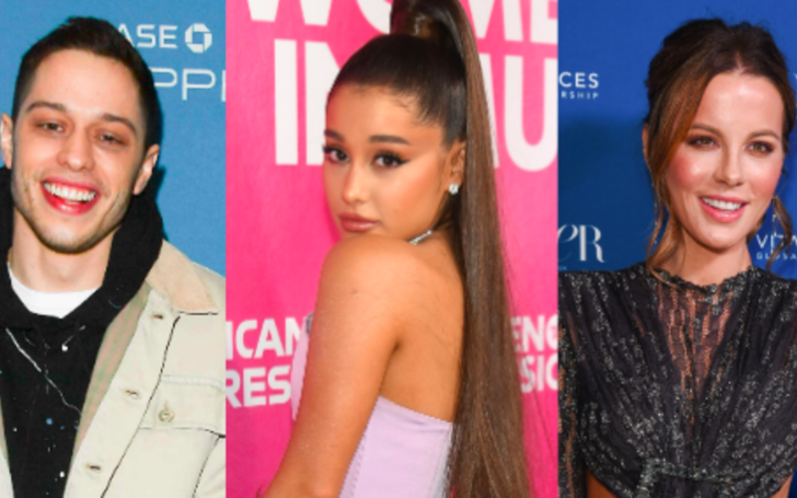 Ariana Grande Reacts To The Rumored Romance Between Pete Davidson And Kate Beckinsale