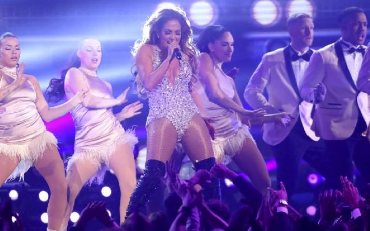 Jennifer Lopez Dazzled with Motown Tribute at 2019 Grammys Following Backlash