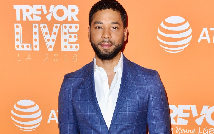 Jussie Smollett Claims He's