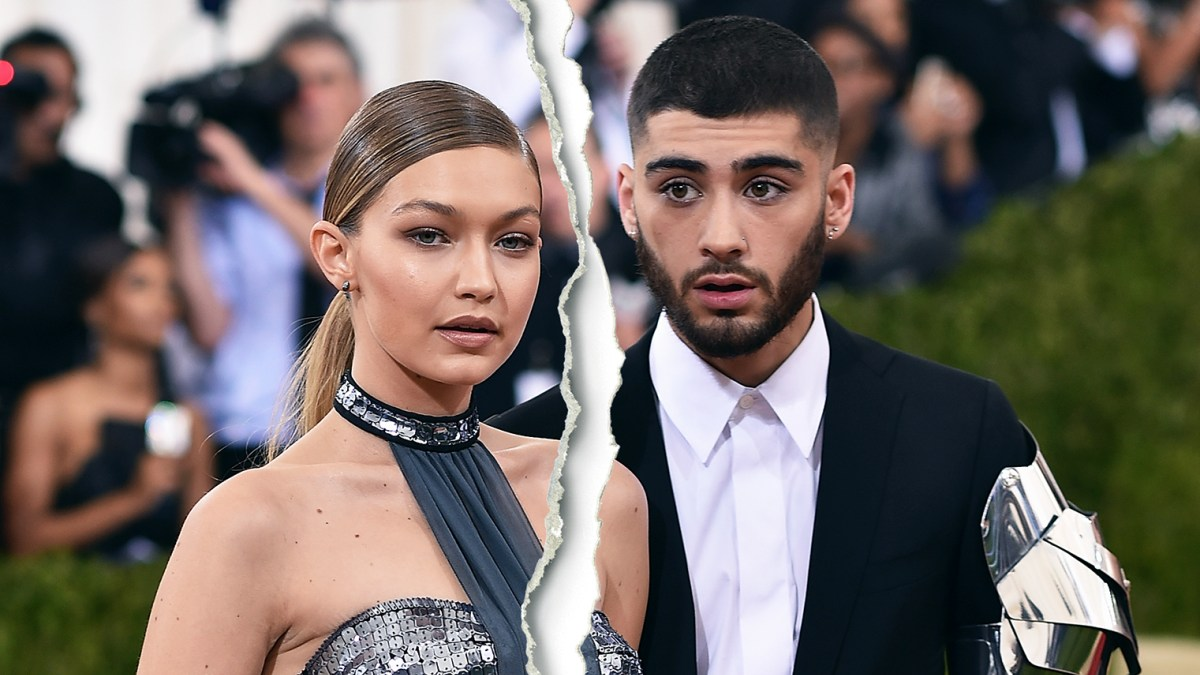 Gigi Hadid Spends Her first Valentine's Day After Heartbreaking Zayn Malik Split In All Black Outfit