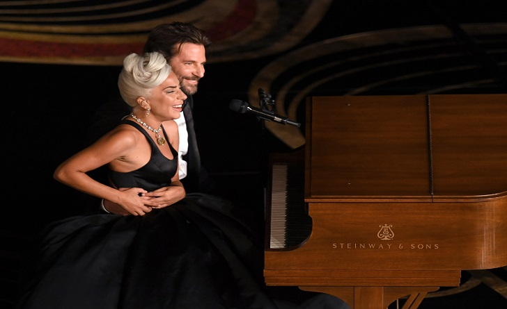 Lady Gaga, Bradley Cooper and Irina Shayk at the Oscars-Complete Story with Twitter Reactions