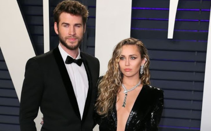 Miley Cyrus and Liam Hemsworth Made Up For Their Oscars Absence with Smoking Hot Red Carpet Appearance For Vanity Fair's Official After Party