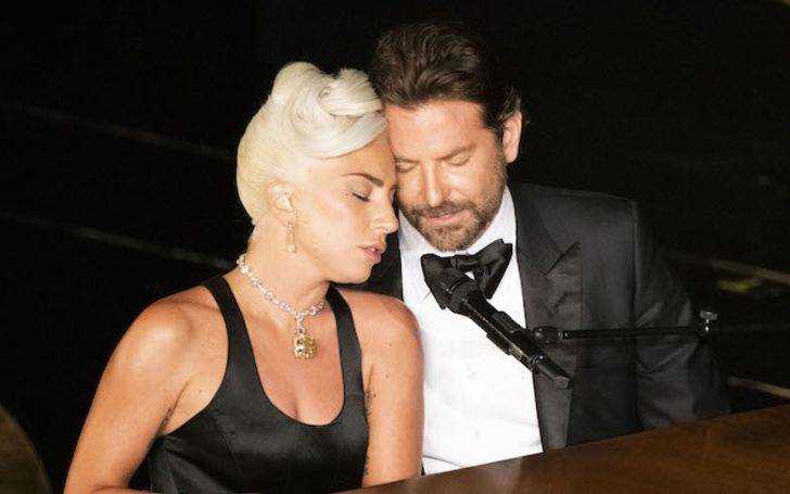 Lady Gaga and Bradley Cooper Almost Kiss after Their Oscars Performance