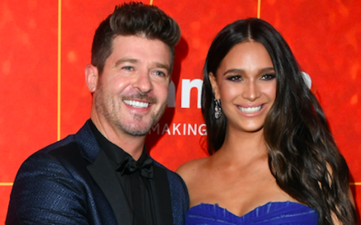 Robin Thicke and April Love Geary have Welcomed their Second Child
