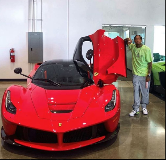 Tyga Getting  Sued  For $128 k Of Broken Leases on Ferrari and Rolls Royce.