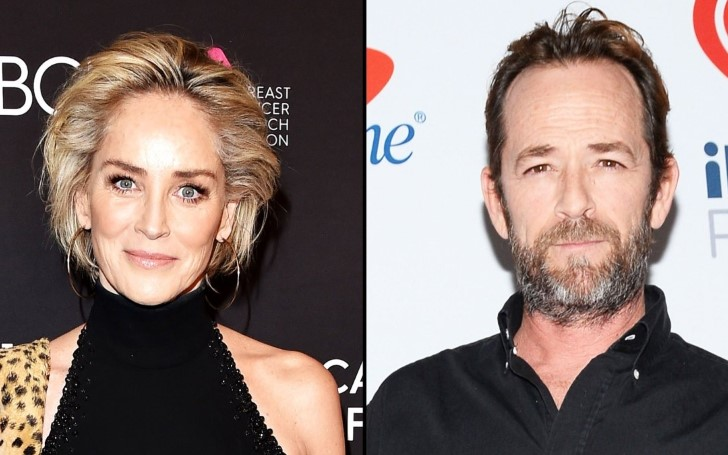 Sharon Stone Offers Supportive Words For Luke Perry After The Actor Suffered Massive Stroke