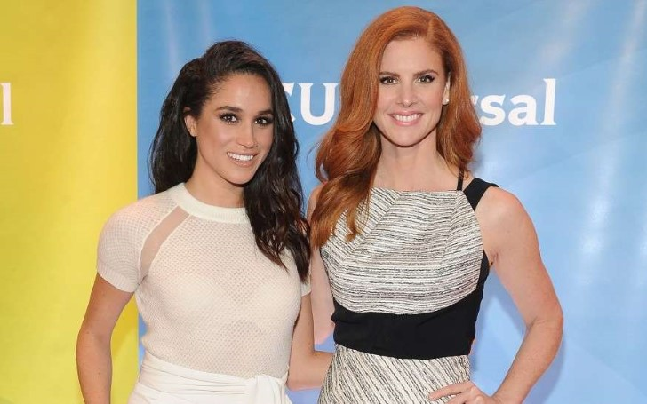 'Suits' Star Sarah Rafferty Speaks on The 'Exciting' Baby Shower of Meghan Markle
