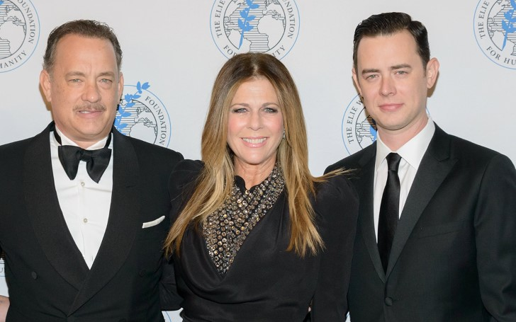 Tom Hanks' Son Shared An Amazing Story About Luke Perry After Meeting Him On A Flight