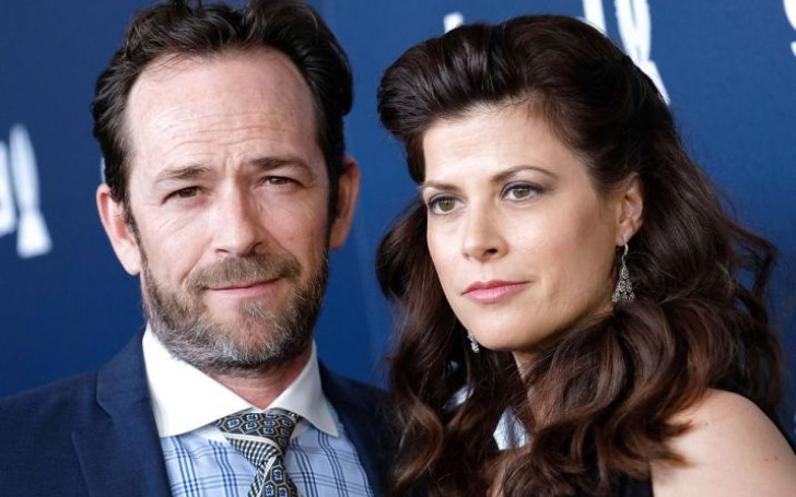 Luke Perry's Fiancee Wendy Madison Bauer Speaks Out For The First Time Since The Actor's Sudden Death