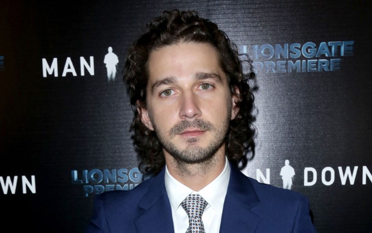 Shia LaBeouf Made Emotional Statements About His Personal Struggles On The set of 'The Peanut Butter Falcon'