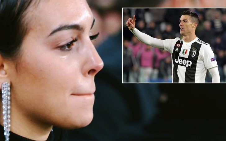 Cristiano Ronaldo's Girlfriend Georgina Rodriguez Cries Tears of Joy after His Sensational Hat-trick Takes Juventus into the Champions League Quarterfinals