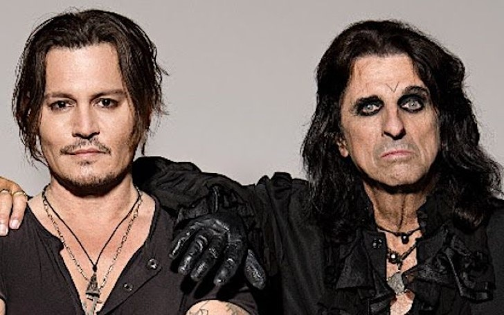 Johnny Depp's Bandmate Alice Cooper Slams Rumors Concerning Actor's Health