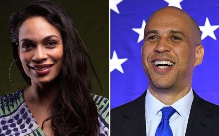Rosario Dawson and Cory Booker are Reportedly Dating
