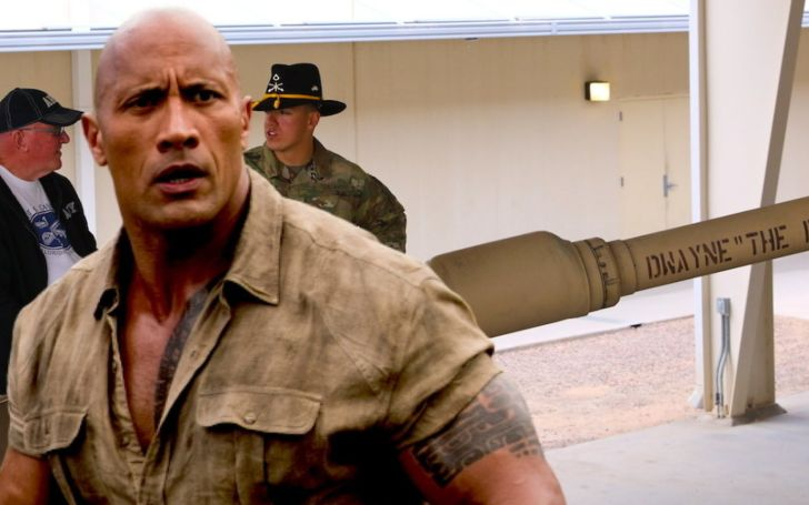 Dwayne 'The Rock' Johnson Faces Backlash after he Shares His Delight at an Army Tank Named after Him