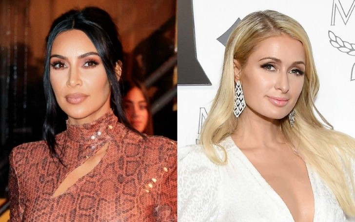 Kim Kardashian and Paris Hilton Reunite at Birthday Party