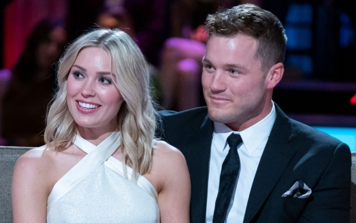 The Bachelor's Colton Underwood and Cassie Randolph Sport Matching Jerseys; 'Underwood' and 'Future Mrs.'