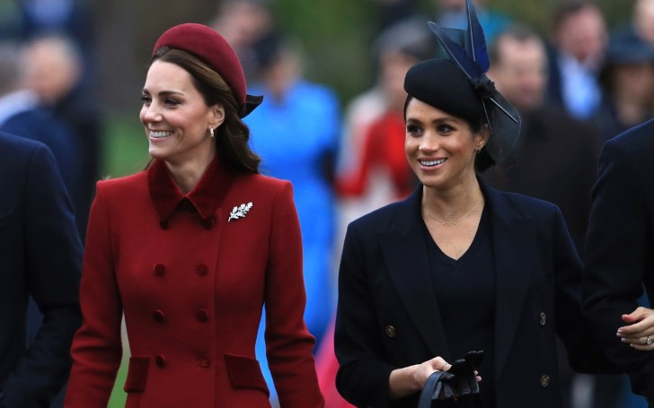 Here's The Truth About Kate Middleton's Relationship With Meghan Markle