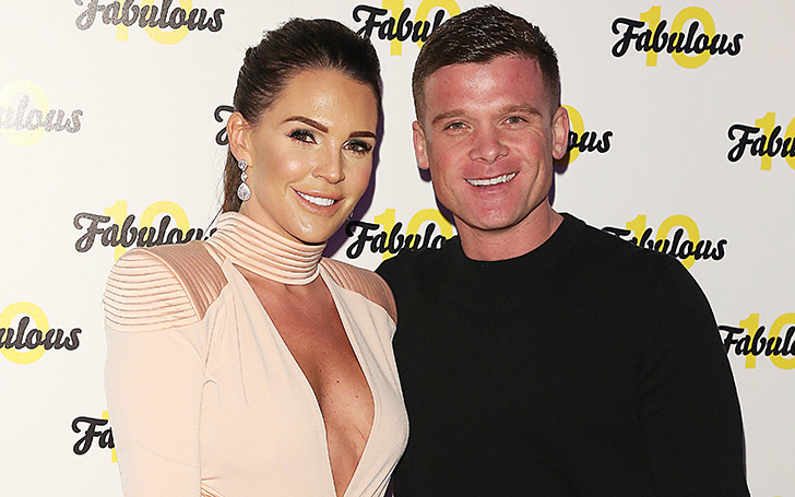 Danielle Lloyd Married Secretly Her Fiance Michael O'Neill After A Three Year Engagement