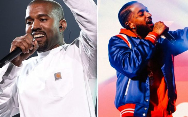 Kanye West Honors Nipsey Hussle At his Sunday Service