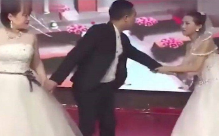 Bride Gets Shocked After Groom's Ex Gatecrashes The Wedding In Bridal Dress