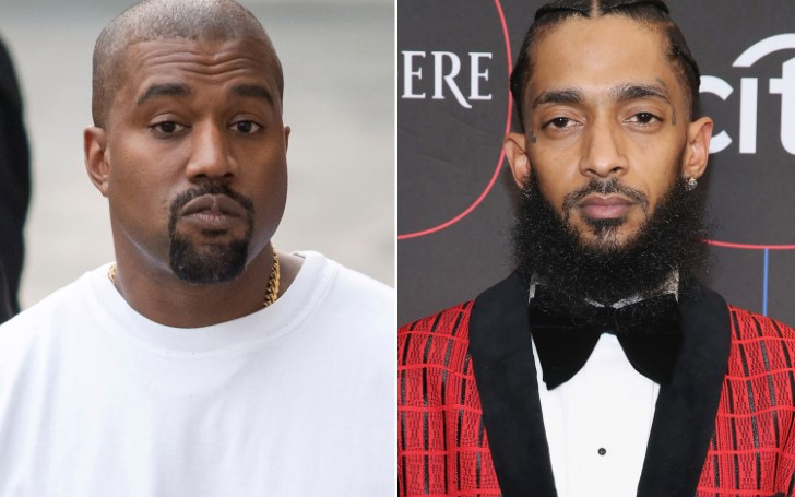 Kanye West Pays Tribute To Nipsey Hussle as he Offers Words of Encouragement at Sunday Service