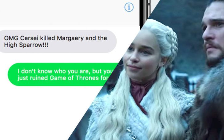 Any Snake In Your Life Or Someone Who Pissed You Off? This Website Will Text Game Of Thrones Spoilers To Your Friends!