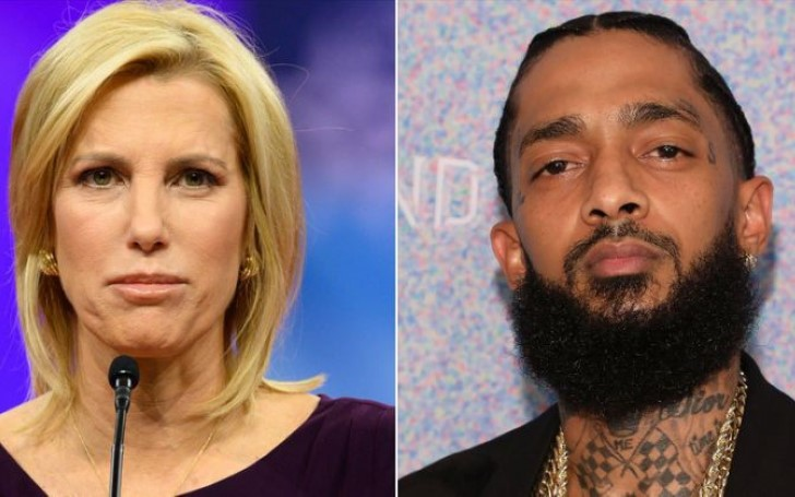 Laura Ingraham Tries to Mock Nipsey Hussle; Uses Pic of Wrong Guy