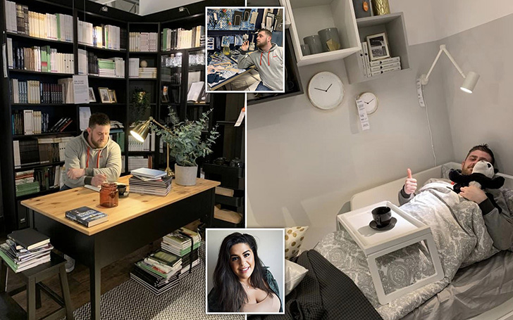 Single Mum Impressed By Tinder Man's Home Finds Out He's Posing In IKEA