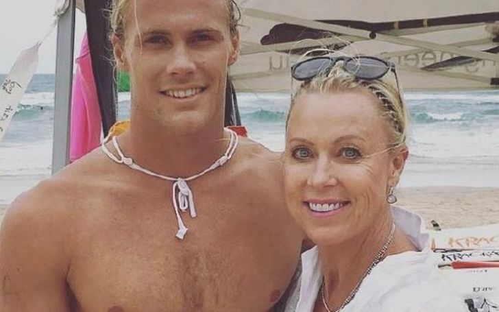 Jett Kenny Is 'Very Proud' Of Mum Lisa Curry