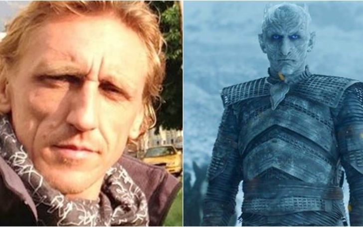 Game of Thrones's Night King Actor Vladimir Furdik Sleeps in the Full Night King Costume